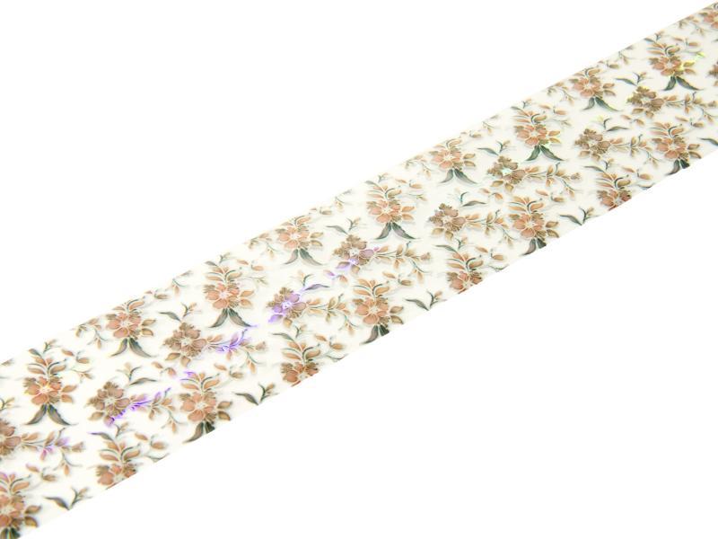 Nagelfolie - Blommigt