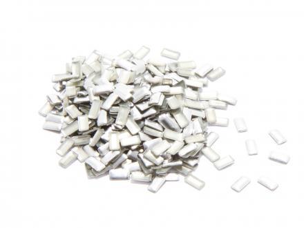 Nagelnitar - Silver, rektangulära