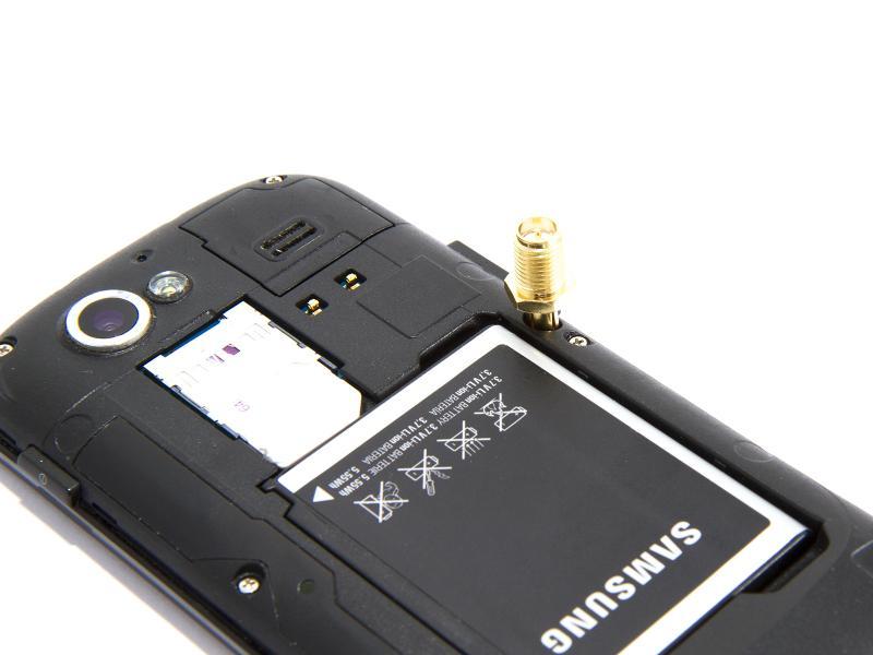 RP-SMA till TS9 adapter, förgylld