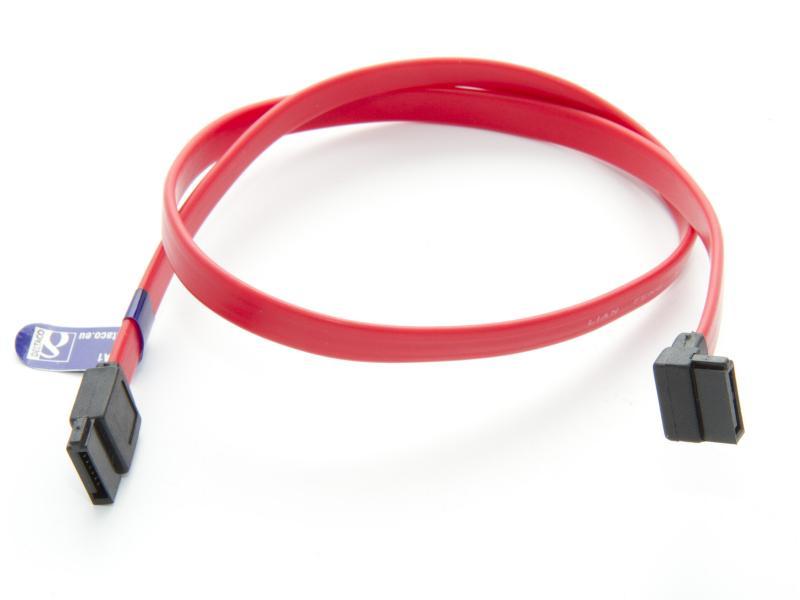 SATA-kabel vinklad kontakt 50 cm