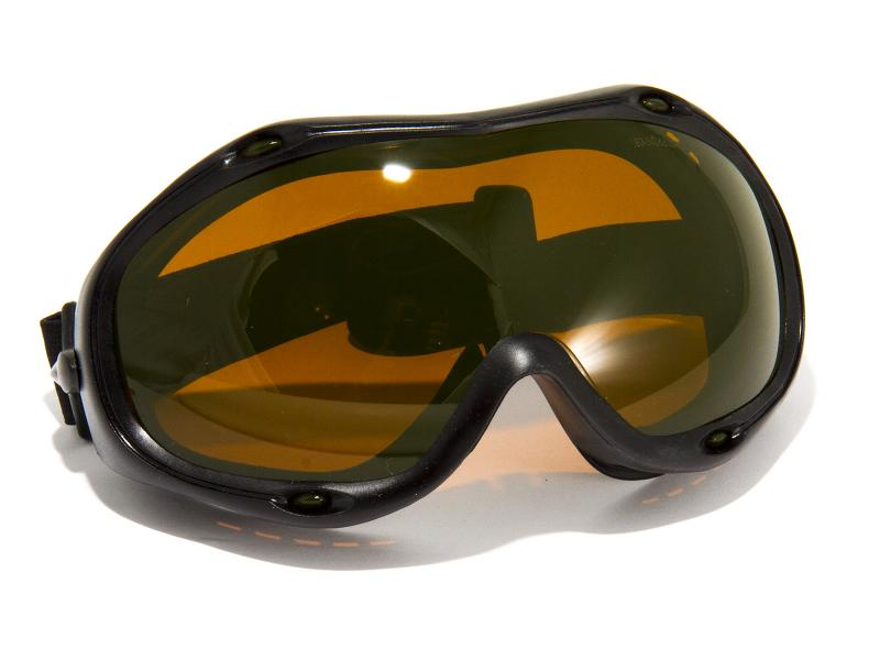 Skyddsgoggles för grön laserstrålning 195-540nm
