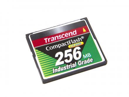 Transcend CompactFlash 256MB industriell kvalitet