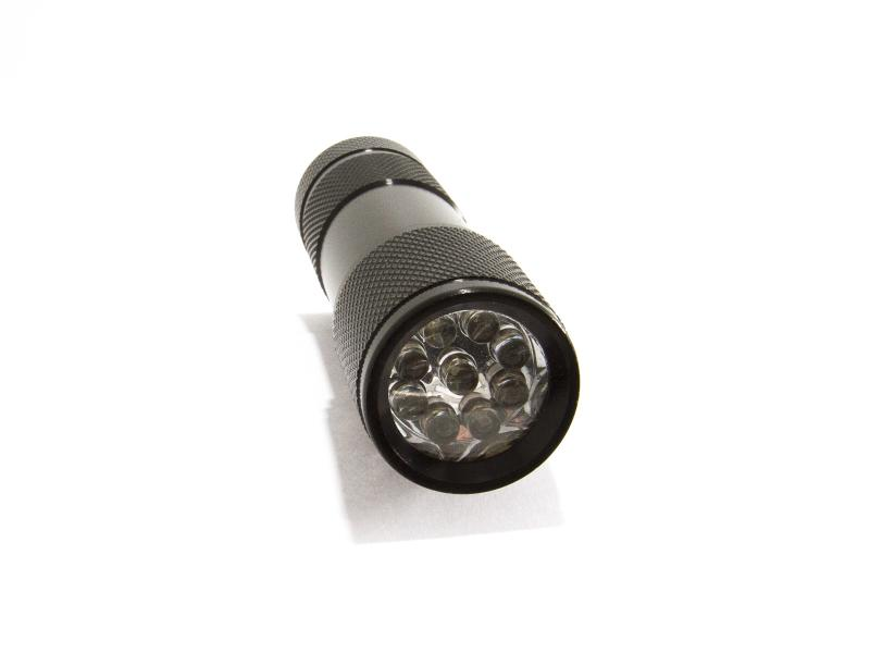 UV-ficklampa 9 LED 365-370nm